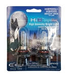 HIB9005 (HB3) BrightMax 2 Piece Blister Pack, T4 12V 65W 5.4A P20d XWU HIB BrightMax 2-Pack, #9005 Bright Max Bulbs, CEC #9005 BrightMax Headlight Bulbs