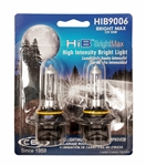 HIB9006 (HB4) BrightMax 2 Piece Blister Pack, T4 12V 55W 4.58A P22d HIB BrightMax 2-Pack , #9006 Bright Max Bulbs, CEC #9006 BrightMax Headlight Bulbs
