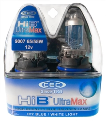 HIB9007 (HB5) ULTRAMAX 2 Piece Blister Pack,#HIB9007 UltraMax Automotive Bulb, #HIB9007 (HB5) UltraMax Automotive Halogen, #HIB9007 (HB5) UltraMax Auto Bulb, #HIB9007 (HB5) Ultra Max Halogen Bulb, CEC HIB9007 (HB5) UltraMax Automotive Halogen Bulb