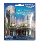HIB9012LL BRIGHT MAX 2 Piece Blister Pack, T4 12V 60W 4.58A HIB BrightMax 2-Pack, #9012LL Bright Max Bulbs, CEC #9012LL BrightMax Headlight Bulbs