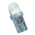 T3-1/4 6V-28V WHITE L.E.D. MINIATURE BULB WEDGE BASE, WHITE L.E.D. MINIATURE BULB WEDGE BASE, L.E.D., LED MINIATURE BULB, L.E.D. MINIATURE LAMP, L.E.D. REPLACEMENT MINIATURE BULB