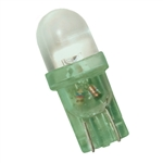 LE-0509-02G T-3 1/4 24V Wedge-Based LED Green, JKL #LE-0509-02G, LE-0509-02G