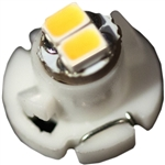 LE-DNW1-01W T-1 1/4 Neo-Wedge DNW1 Base White LED, LED LE-DNW1-01W, JKL# LE-DNW1-01W
