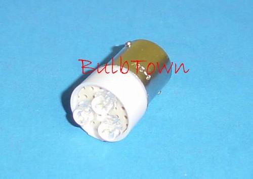 895 WHITE L.E.D. MINIATURE BULB BA15D BASE, L.E.D. #895, LED ...