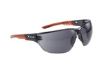 Bolle NESSPPSF NESS+ Safety Glasses With Smoke Lenses, Bolle Safety NESSPPSF NESS+, Bolle NESSPPSF NESS+