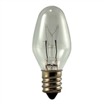 Flea Trap Replacement Bulb 7 Watt 130 Volt E12 Base, Flea Trap Bulb, Flea Trap Light Bulb, Bulb for Flea Trap