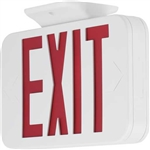 Progress Lighting PETPE-UR-30 Exit Sign, Red & White LED Exit Sign, Progress #PETPE-UR-30 Exit Sign, Modern Exit Sign, LED Exit Sign