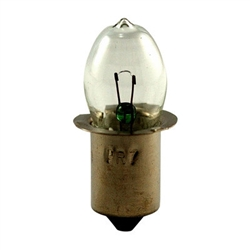 PR18 Flashlight Bulb P13.5S Base, PR Bulb 7.2V .55A 4.2CP, #PR18 Miniature Bulb, #PR18, PR18, #PR18 Flashlight Lamp, #PR18 Mini Bulb, #PR18 Mini Lamp, #PR18 Miniature Lamp, #PR18 Indicator,Eiko# 40096,Eiko PR18 Flashlight Lamp,Eiko PR18 Flashlight Bulb