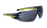 Bolle Silex+ SILEXPPSF Safety Glasses With Smoke Lenses,Bolle Safety SILEXPPSF, Bolle Safety Glasses #SILEXPPSF