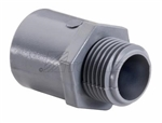 "Topaz - 1034 1-1/4"" PVC Conduit Terminal Adapter, Topaz#1034, Topaz 1034, 1-1/4"" Male PVC Adapter Topaz #1034"