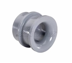 "Topaz - 1124 1-1/4"" Conduit End Bell,Topaz#1124, Topaz 1124, 1-1/4"" PVC Conduit End Bell"