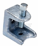"Topaz - 123 Beam Clamp, Topaz #123, Topaz 123, Malleable Iron Beam Clamp Topaz #123, 7/8"" Jaw Opening Beam Clamp Topaz #123"