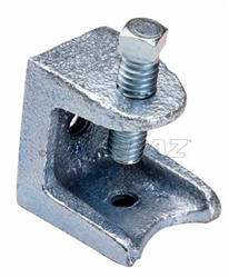 "Topaz – 124 Beam Clamp, Topaz #124, Topaz 124, 1-1/8"" Jaw Opening Malleable Iron Beam Clamp Topaz #124"