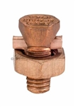 Topaz - 692 Split Bolt #6 Connector, Topaz #692, Topaz 692, Split Bolt #6 Connector Bronze Material Topaz #692
