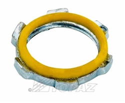 "½"" Sealing Locknuts, Topaz - 711 ½"" Sealing Locknuts, Topaz #711, Topaz-711,Topaz 711, 1/2"" Steel Sealing Locknut, 1/2"" Sealing Locknut"
