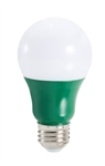 Topaz – 79666 LA19/3/GREEN-46, Topaz 2.5 Watt Green LED A19 Lamp, Topaz #79666,Topaz-79666, GREEN Colored LED A19 Bulb, Topaz#LA19/3/GREEN-46 Bulb, Green LED Light Light Bulb