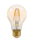 Topaz - LA19/5/827/ANTQ-83 Dimmable LED Lamp,Topaz #LA19/5/827/ANTQ-83, Topaz #79237, Topaz-79237, Topaz 79237, 5 Watt Antique Filament Style A19 Dimmable LED Lamp