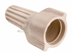Topaz - WT2 Connector Wing Type,Topaz #WT2, Topaz WT2, Tan Wing Type Wire Connector Topaz #WT2