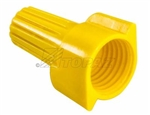 Topaz - WY2 Wire Connector Wing Type, Topaz #WY2, Topaz WY2, Yellow Wing Type Wire Connector Topaz #WY2