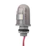 "TORK 2000-2 Photocontrol 208-277VAC, Tork#2000-2, TORK SPST 1/2"" Conduit Mounting Photocontrol #2000-2, Stem 208-277V 4620W 2770VA 1385VA LED, 1/2"" Stem Lexan, On 1-5fc/Off 3-15fc, 6""Leads, 208-277V, 3470-4620W Tungsten, 2080-2770VA Ballast, 1040-1385VA"
