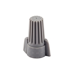 WWC-G-B NSi Industries | Easy-Twist™ Grey Winged Wire Connectors, 250 Count, NSi #WWC-G-B, NSi Easy Twist Grey Winged Wire Connector #WWC-G-B