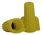 WWC-Y-C NSi Industries | Easy-Twist™ Yellow Wing Connectors 100ct,100 Count, NSi #WWC-Y-C, NSi Easy Twist Yellow Winged Wire Connector #WWC-Y-C,18-10 AWG Yellow Winged Wire Connector