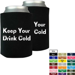 Promotional Economy Collapsible Foam Beverage Insulator