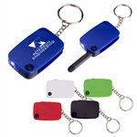 Custom Stylus Key Ring w-LED Light