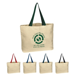 Promotional 100% Natural Canvas Tote Bag