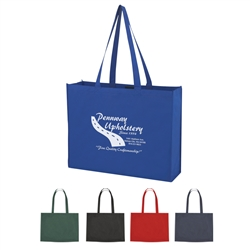 Promotional Non-Knitted Shopper Tote w-Velcro Closure