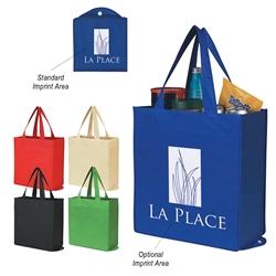 Promotional Foldable Non-Knitted Shopper Tote