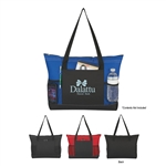 Promotional Voyager Polyester Tote Bag