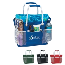 Promotional Rope-A-Tote Nylon Bag