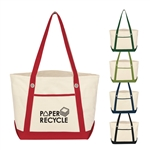 Promotional Cotton Canvas Medium Sailing Tote