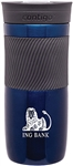Custom Contigo Byron Blue Steel Bottle 16oz