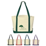 Promotional Heavy Cotton Canvas Small Boat Tote