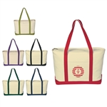 Promotional Heavy Cotton Canvas Large Boat Tote