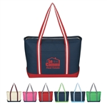 Promotional Cotton Canvas Large Admiral Tote