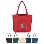 Promotional Cotton Canvas Small Yacht Tote