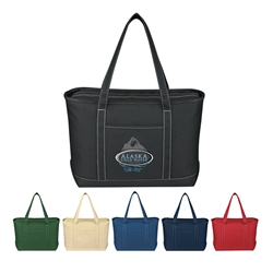 Promotional Cotton Canvas Large Yacht Tote