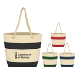 Promotional Cruising Tote w-Rope Handles