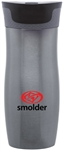 Custom Contigo Gun Metal West Loop Steel Bottle 16oz