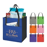 Promotional Shopper's Pocket Non-Woven Tote Bag