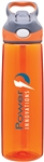 Custom Contigo Addison Orange Copolyester Bottle 24oz