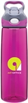 Custom Contigo Addison Pink Copolyester Bottle 24oz