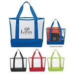 Promotional Clear PVC Casual Tote Bag