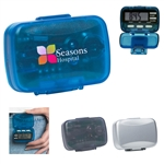 Custom Multi-Function Step Counter Pedometer w-Clock
