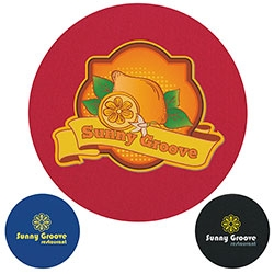 Logo Imprinted Koozie Coaster