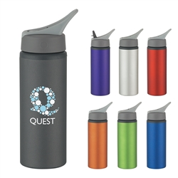 Personalized Aluminum Bike Water Bottle 25oz