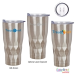 22 Ounce Hot|Cold Stainless Steel Logo Tumblers